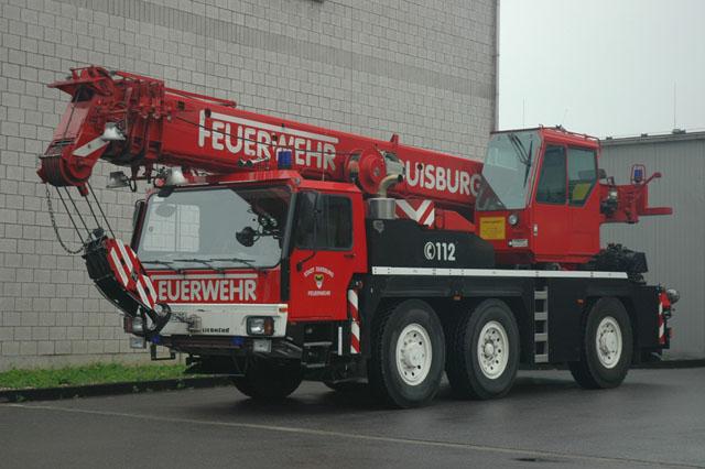 Duisburg Liebherr Crane