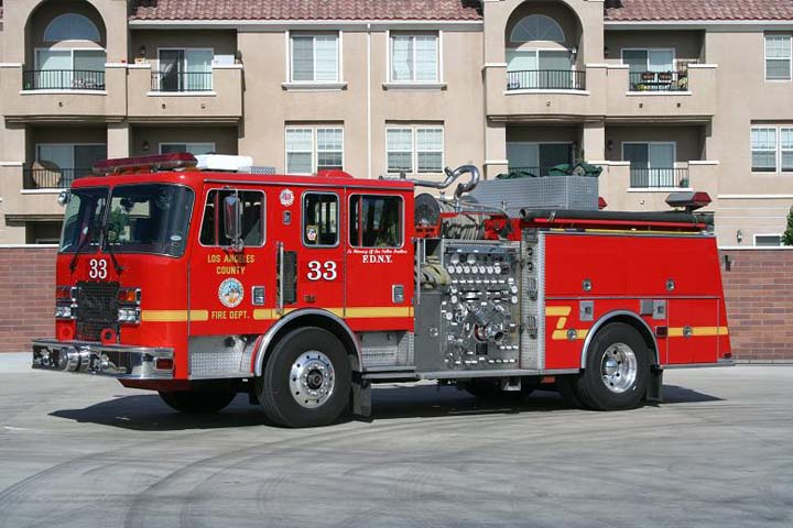 Cnty fire fire engine fire truck lacofd engine angeles cnty funeral