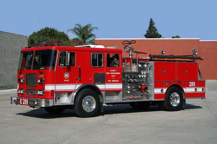 Los Angeles FD - Engine 289