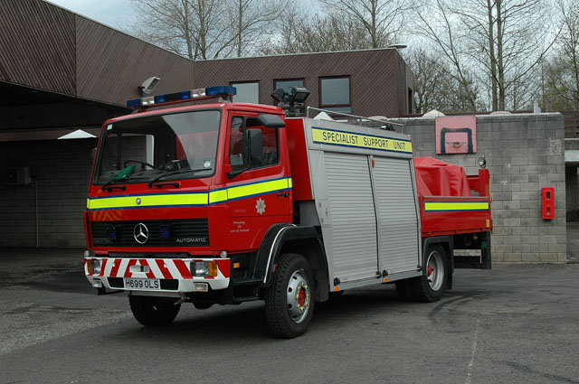 Fire Engines Photos - Central Scotland Specialist Support Unit