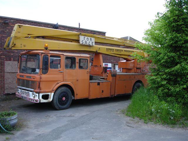 Leyland Beaver Hydraulic Platform
