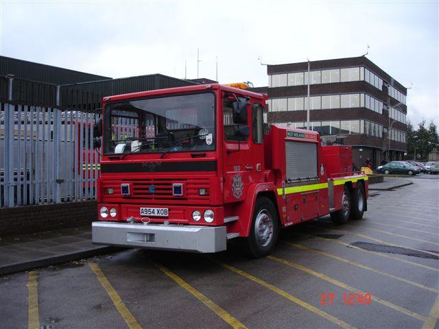 West Midlands Fire Service wrecker