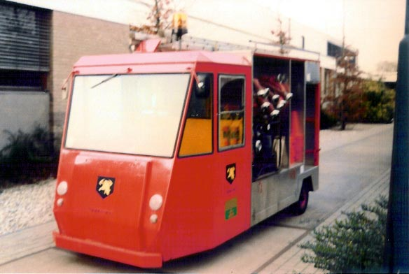 Intervet Electro 'fire truck'