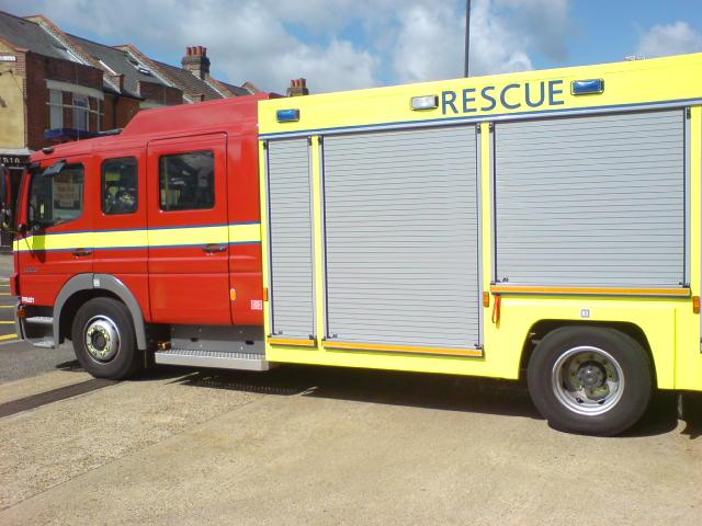 LFB Mercedes-Atego 1325 Papworth Fire Rescue Unit