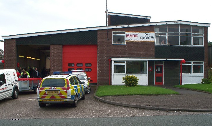 STAFFORDSHIRE F&RS, KIDSGROVE FIRE STATION