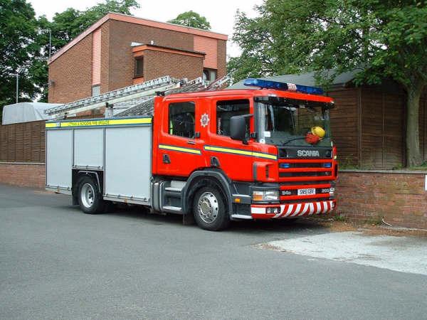Scania L&B Fire Brigade