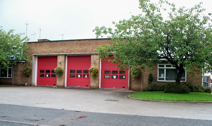 STAFFORDSHIRE F&RS, UTTOXETER FIRE STATION