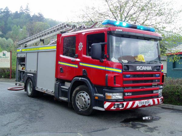Lothian & Borders Scania Watertender