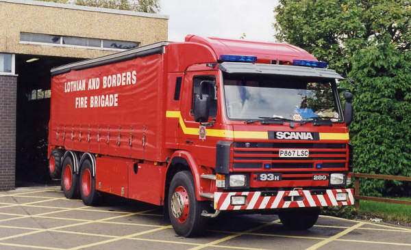 L & B Scania Incident Support Unit