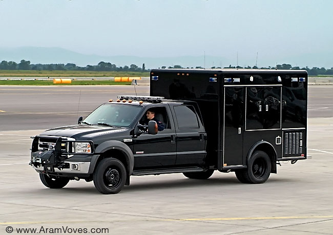 Ambulance of the US President