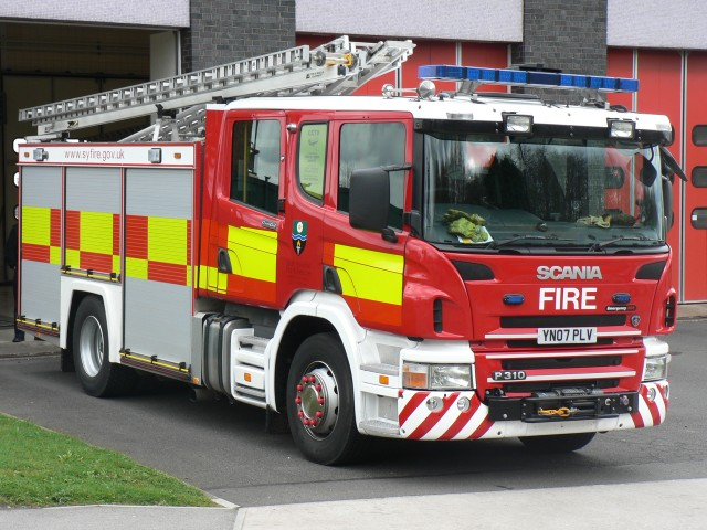South Yorkshire - Scania Rescue Pump