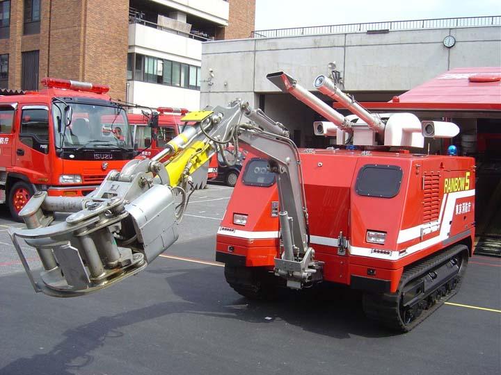 Tokyo Fire department Rainbow 5 robot