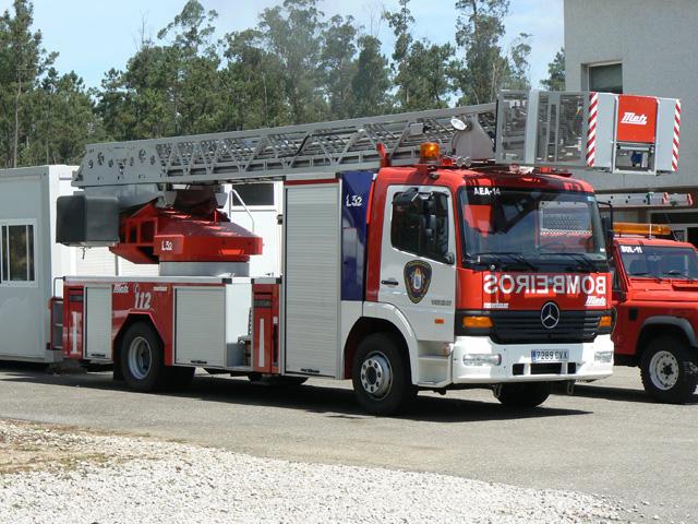 Morrazo Spain Atego Ladder