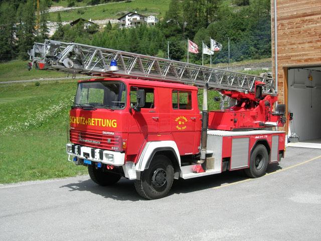 Berg�n Switzerland Ladder
