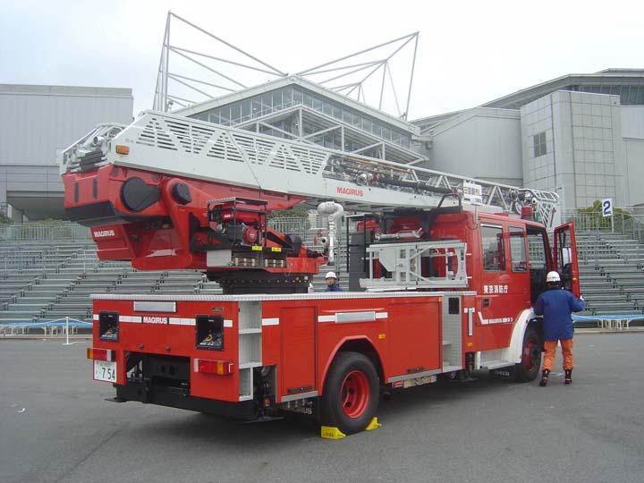Tokyo Fire brigade Magirus ladder