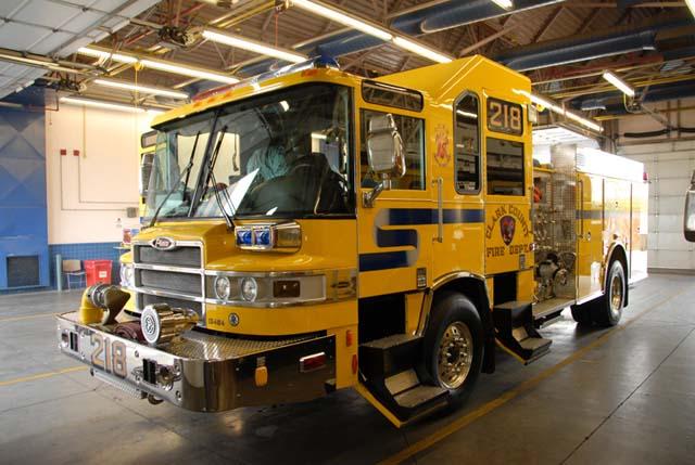 Clark County Fire Truck