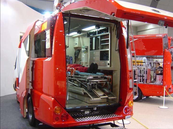 Morita Ambulance at Fire Expo Tokyo