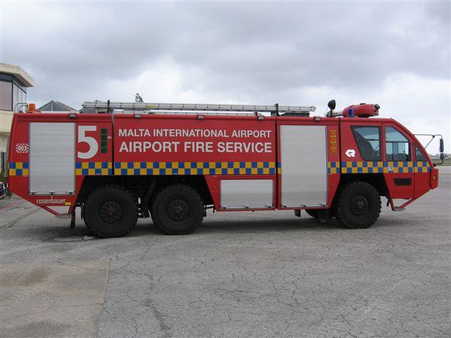 Malta International Airport Panther 6x6