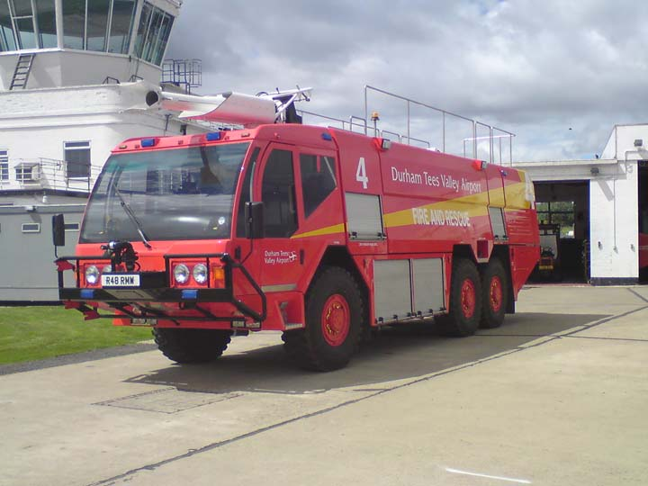 Durham Tees Valley Airport Fire Service Fire 4