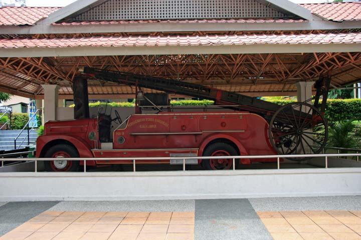Dennis Fire engine National museum Kuala Lumpur