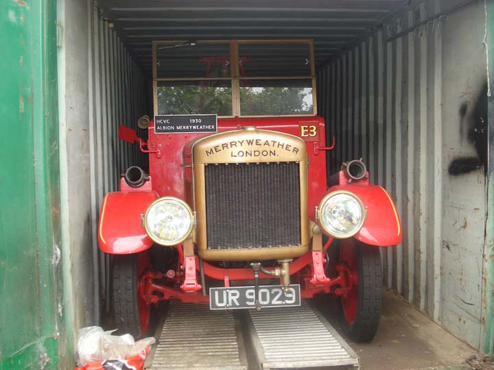 1930 Albion Merryweather Fire engine