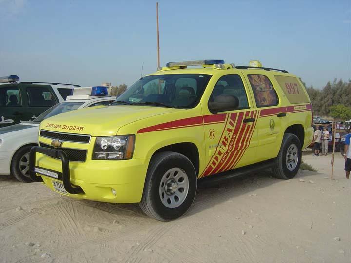 Dubai Civil Defense Chevrolet Air Rescue