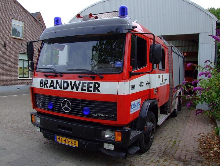 Brandweer Wijdemeren Mercedes 1120 Automatic