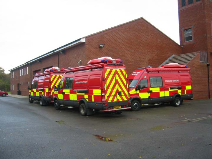 Command Support Units at Huntington FS York