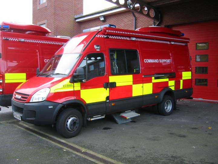 Command Support Units Iveco  Huntington FS York