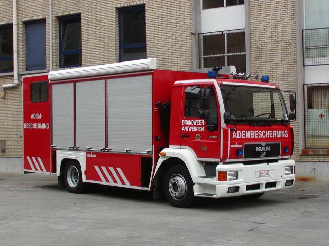 Fire Department Antwerpen Breathing Apparatus Unit