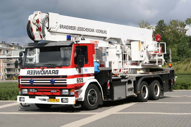 L-V Scania Aerial Appliance