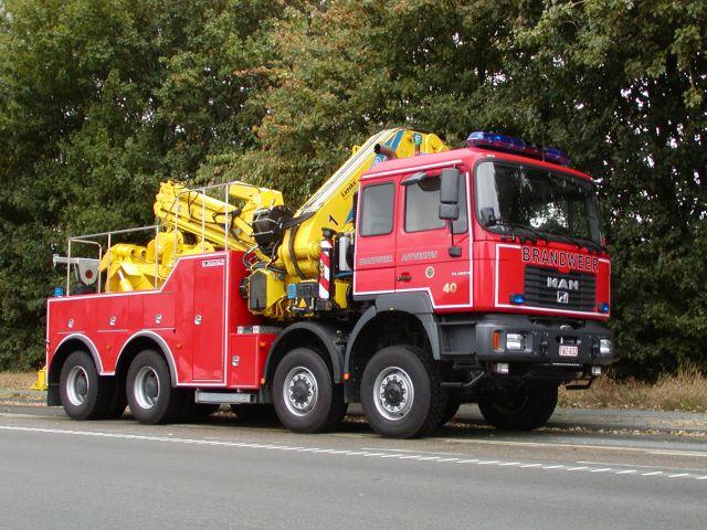 Brandweer Antwerpen MAN towtruck