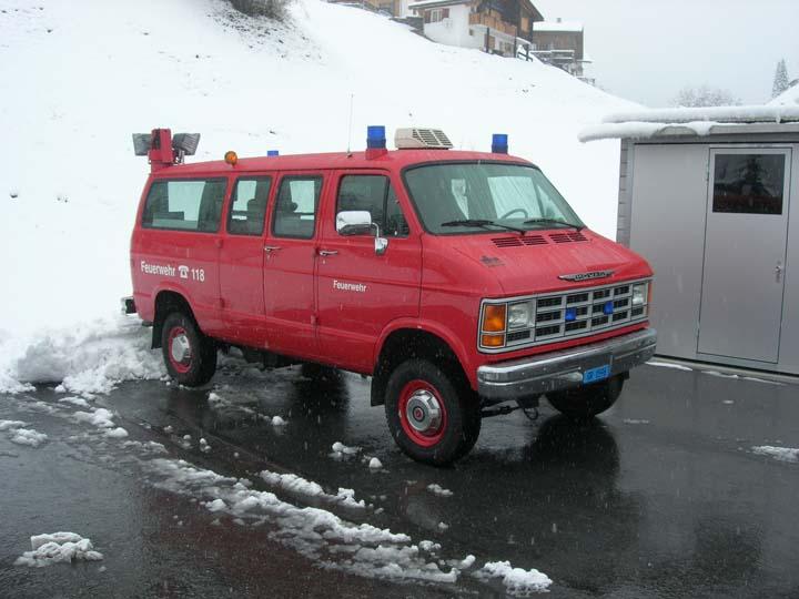 Feuerwehr Albula Switzerland Mowag Rescue