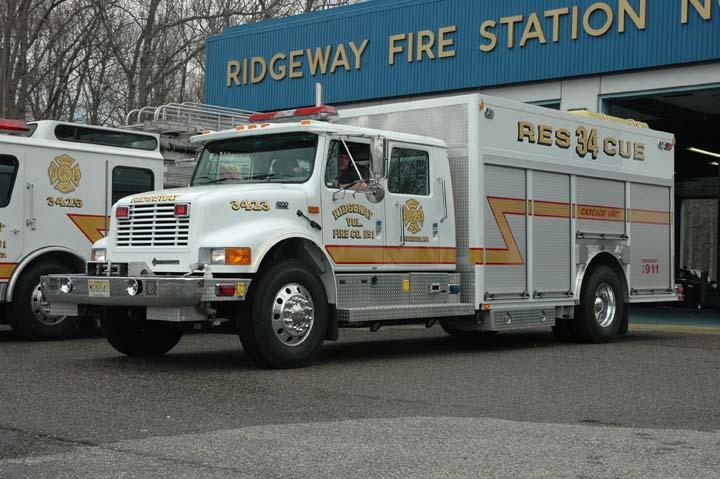 Ridgeway Volunteer Fire co. Manchester Twp Rescue