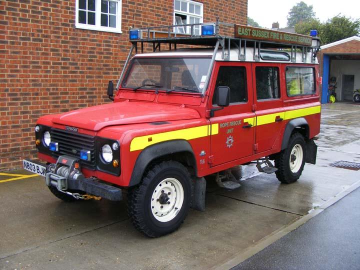 East Sussex FRS Land Rover Stn 18 Battle