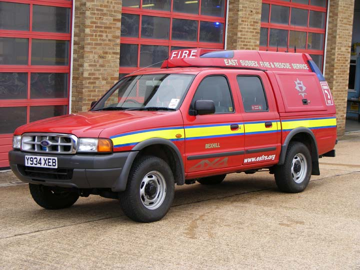 East Sussex FRS Ford Ranger Bexhill Fire station
