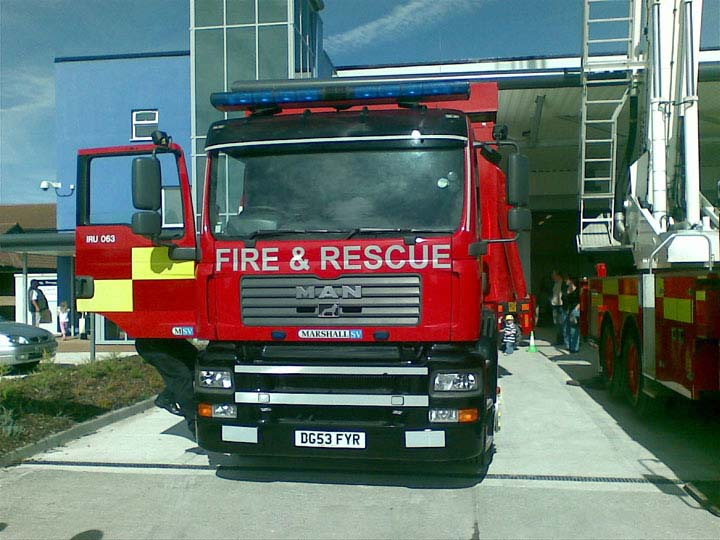 Incident response unit at Ryls new fire station