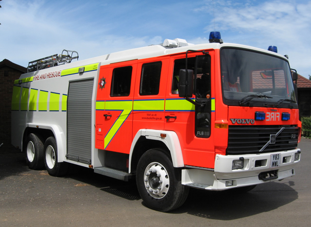 Volvo Water Tender Tanker (Bucks Fire & Rescue)