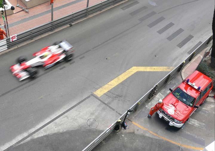 Monaco Fire service Nissan patrol F1 GP