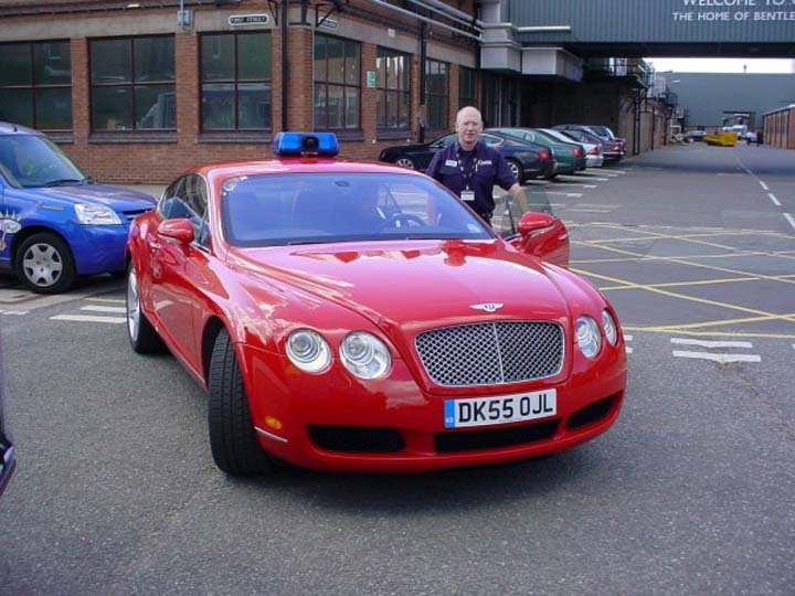 The Grandest Fire Officers Car in the World!