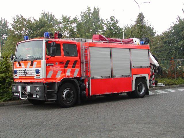 Brandweer Antwerpen Renault Rescue truck