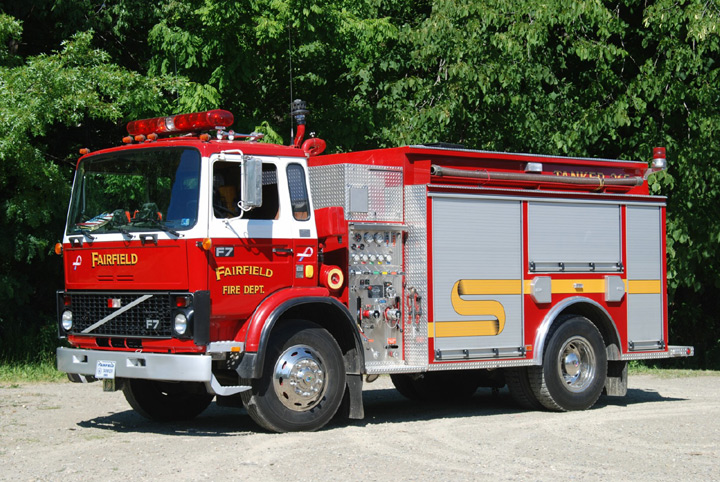 Fire Engines Photos - 1985 Volvo/JC Moore Tanker (USA)