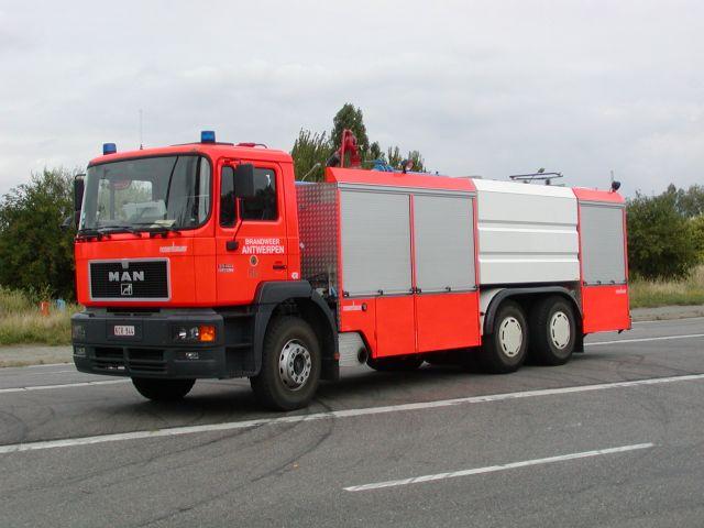 Brandweer Antwerpen MAN Foamtruck