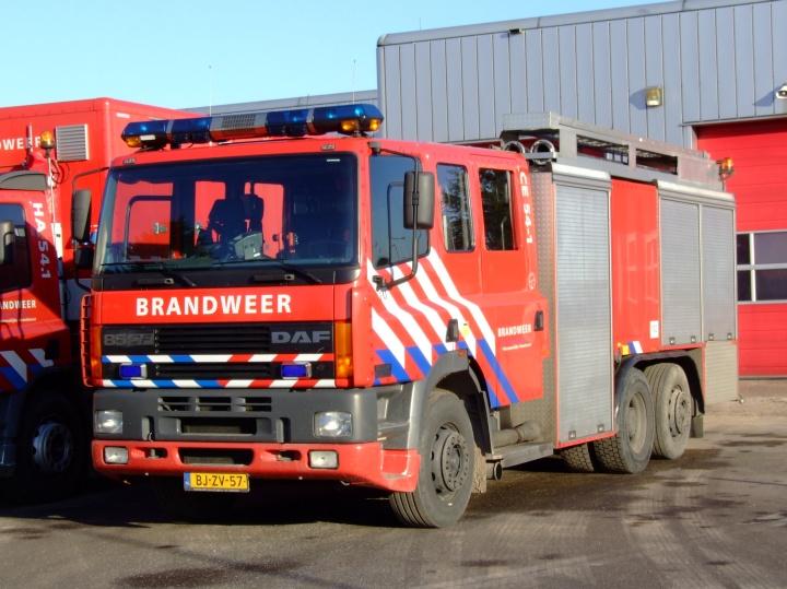 Brandweer Europoort Daf 85 CF