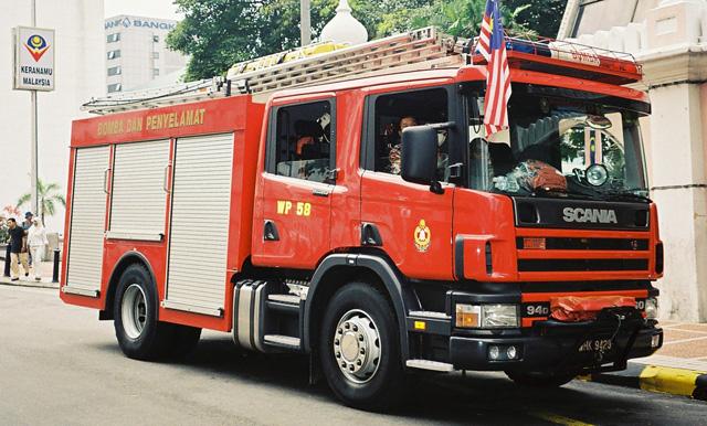 Malaysia Fire Brigade Scania WrT