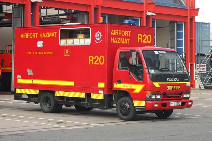 Dublin Airport Authority Fire Service Isuzu R20