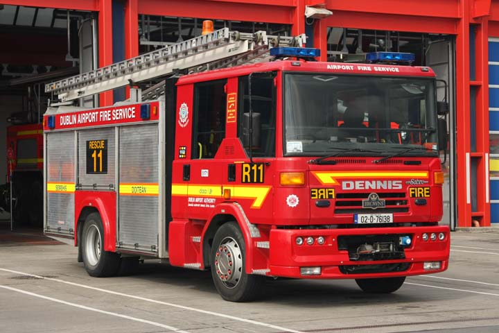 Dublin Airport Authority Fire Service Dennis R11
