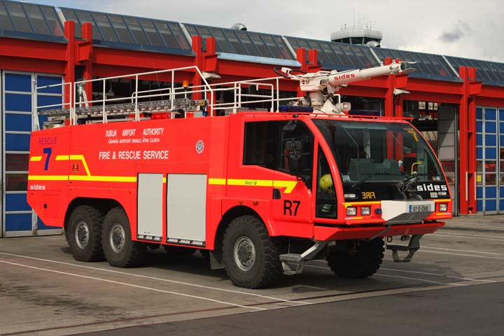 Dublin Airport Authority Fire Service Sides R7