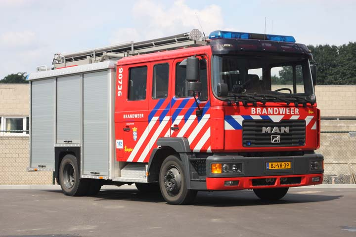 Brandweer Simpelveld MAN Ziegler pump