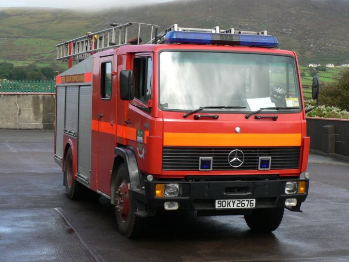 Kerry County Fire & Rescue Mercedes Benz